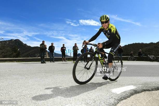 Johan Esteban Chaves Rubio of Colombia and Team MitcheltonScott Climb to Perafita 758 during the 98th Volta Ciclista a Catalunya 2018 Stage 4 a...