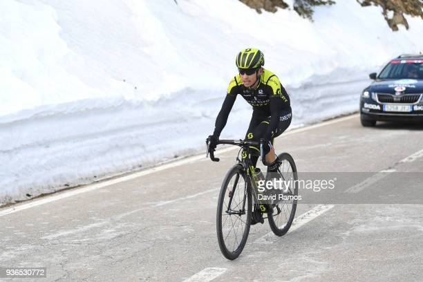 Johan Esteban Chaves Rubio of Colombia and Team MitcheltonScott Col de La Creueta 1925m during the 98th Volta Ciclista a Catalunya 2018 Stage 4 a...