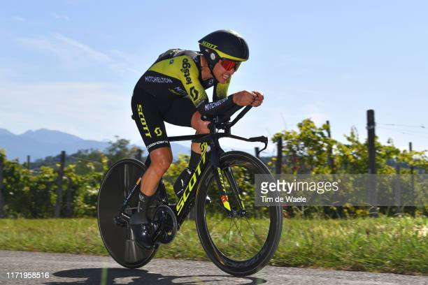 Johan Esteban Chaves Rubio of Colombia and Team Mitchelton-Scott / during the 74th Tour of Spain 2019, Stage 10 a 36,2 Individual Time Trial stage...