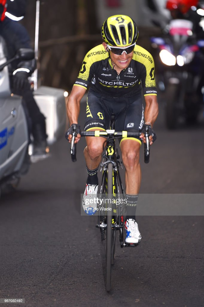 Johan Esteban Chaves Rubio of Colombia and Team Mitchelton-Scott / during the 101th Tour of Italy 2018, Stage 6 a 164km stage from Caltanissetta to Etna-Oss.Astrofisico 1736m / Giro d'Italia / on May 10, 2018 in Etna, Italy.