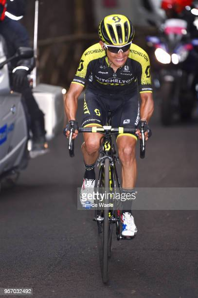 Johan Esteban Chaves Rubio of Colombia and Team MitcheltonScott / during the 101th Tour of Italy 2018 Stage 6 a 164km stage from Caltanissetta to...