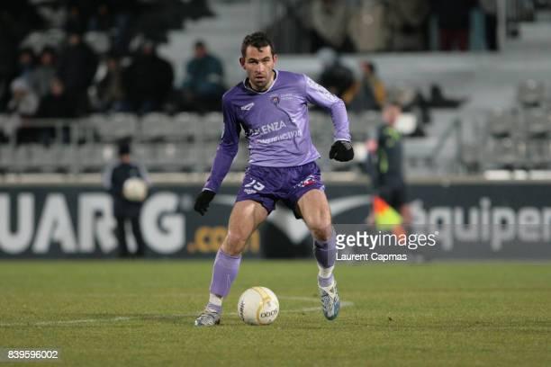 Johan GALLON - Istres / Montpellier - - 22eme journee de Ligue 2 -