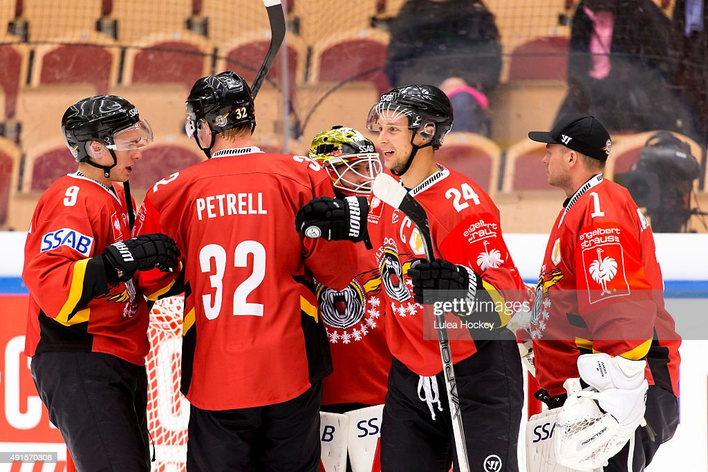 Lulea Hockey v Farjestad Karlstad - Champions Hockey League Round Of 32