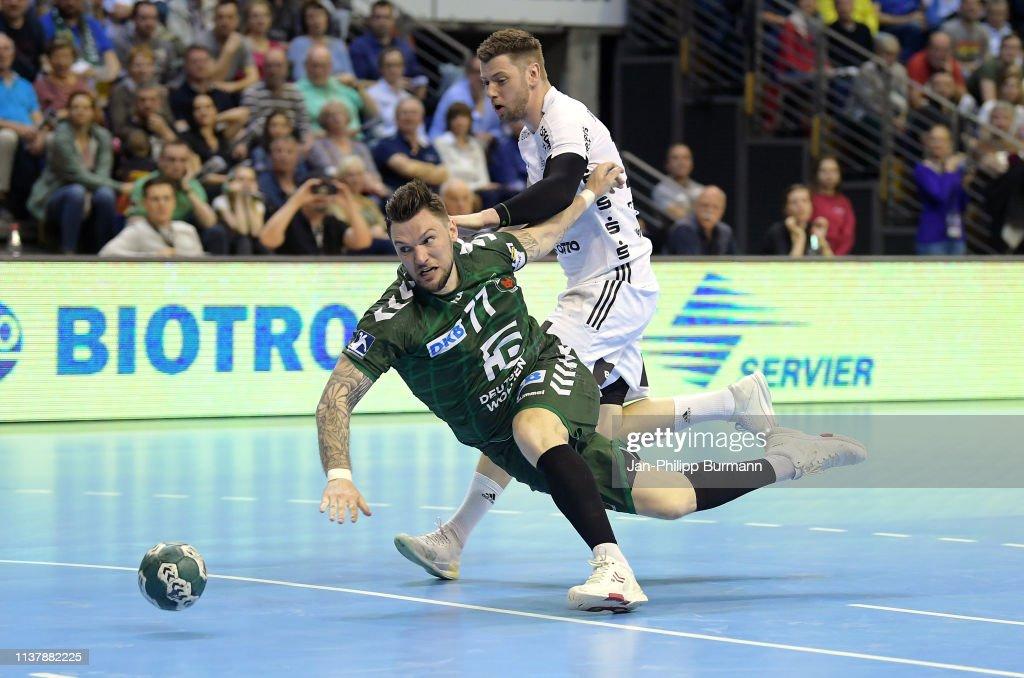 DEU: Fuechse Berlin v THW Kiel - DKB Handball-Bundesliga