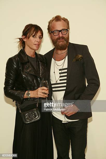Johan Lindberg and Marcella Lindberg attend LOUIS XIII Celebrates WALLPAPER'S Guest Editor LOUISE BOURGEOISE with HELMUT LANG at Cheim Reid and...