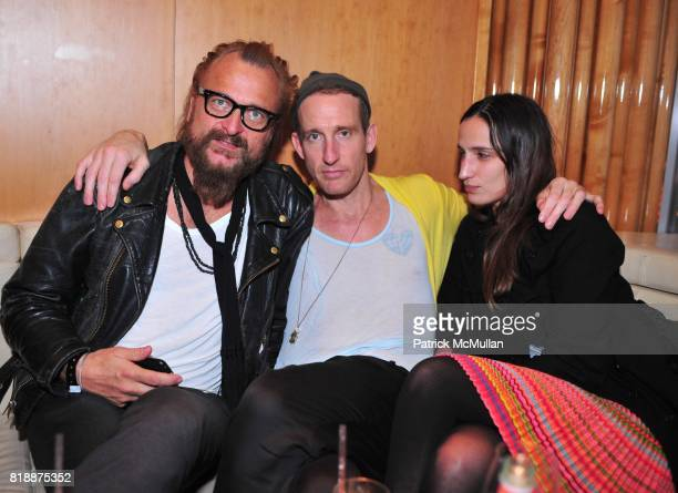 Johan Lindeberg Johan Rank and Annika Ashburg attend NOWNESS Presents the New York Premiere of JeanMichel Basquiat The Radiant Child at MoMa on April...