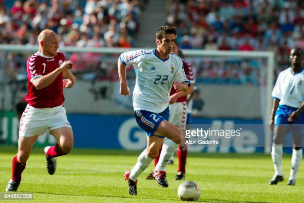 Johan MICOUD / Thomas GRAVESEN - - Danemark / France - Coupe du Monde 2002 -, Photo : Alain Gadoffre / Icon Sport
