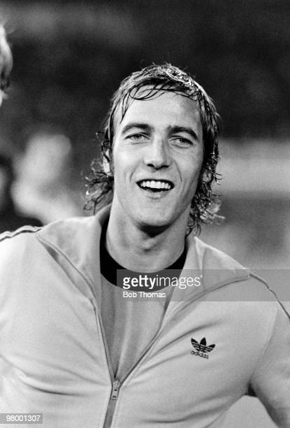 Johan Neeskens of Holland watching the penalty shootout after the FIFA 75th Anniversary Match between Argentina and Holland at the Wankdorf Stadium...