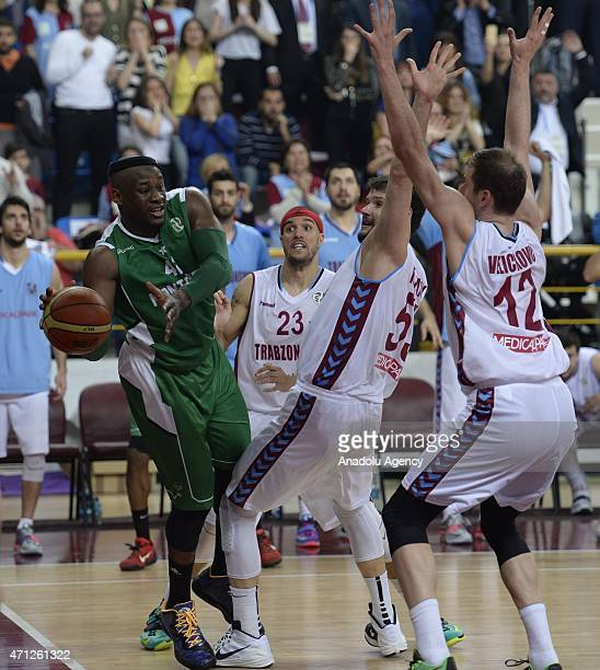 Johan Passave-Ducteil of Nanterre in action during the FIBA EuroChallenge Final Four basketball match between Trabzonspor Medical Park and Nanterre...