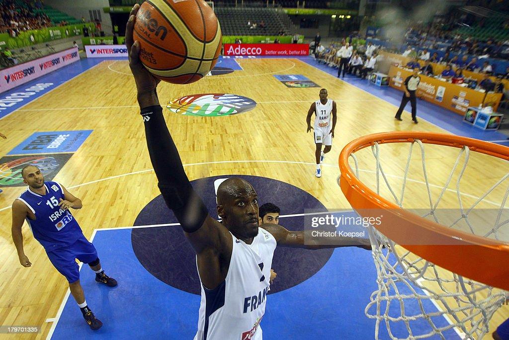 France v Israel - FIBA European Championships 2013
