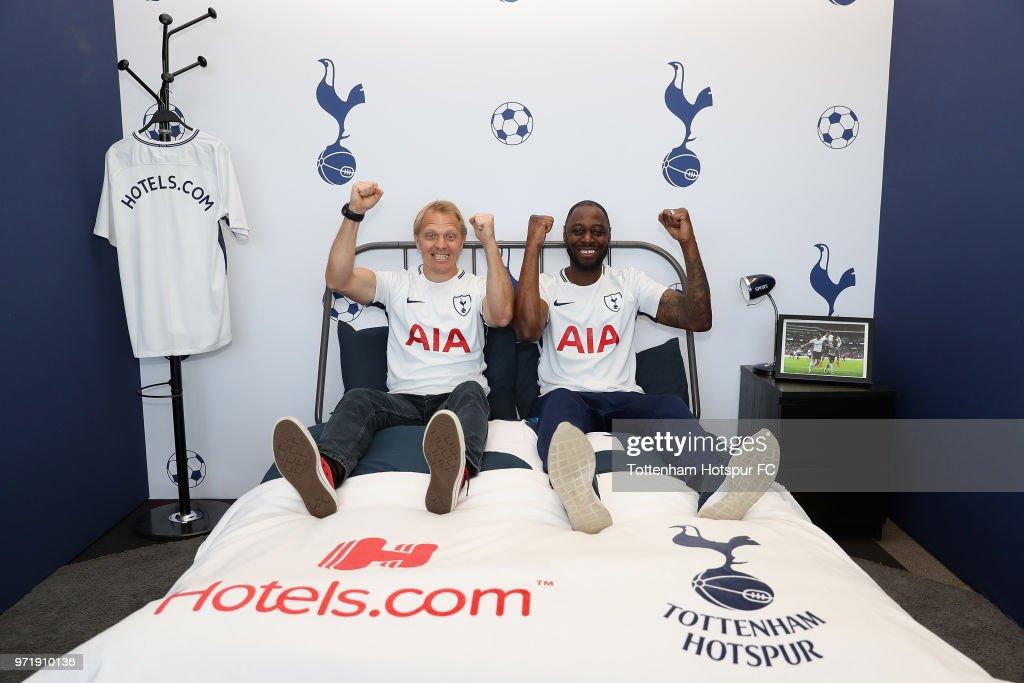 Hotels.com President & Ledley Unveiling the Tottenham Hotspur Partnership