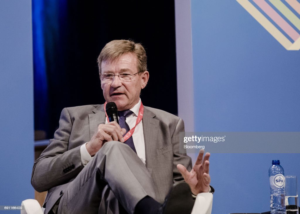 Johan Van Overtveldt, Belgium's finance minister, speaks during the Brussels Economic Forum in Brussels, Belgium, on Thursday, June 1, 2017. It may take the U.K. as long as five years to leave the European Union, with the process set to do major harm to both parties, billionaire investor George Soros said, urging the worlds biggest trading bloc to avoid penalizing Britain and instead focus on reforming itself. Photographer: Marlene Awaad/Bloomberg via Getty Images
