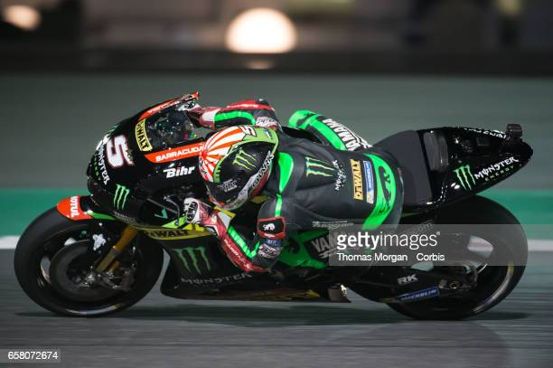 Johan Zarco of France who rides Yamaha for Monster Yamaha Tech 3 rides during free practice session 1 during the Grand Prix of Qatar on March 23 2017...