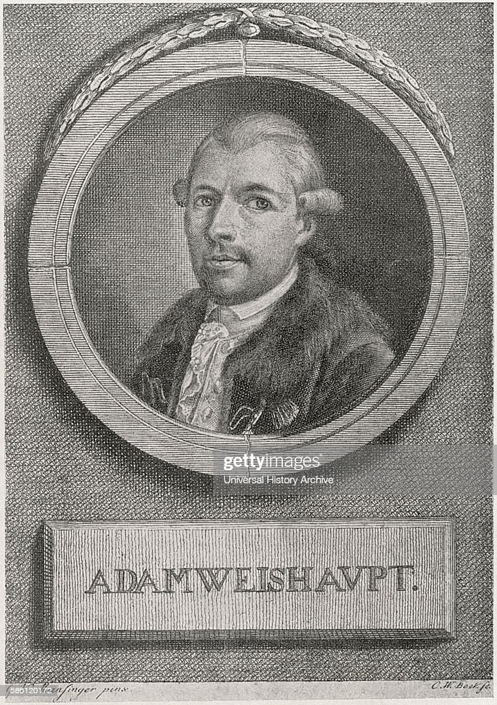 johann adam weishaupt 1748 1830 pictures getty images