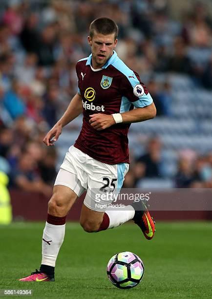 Johann Berg Gudmundsson of Burnley during the PreSeason Friendly match between Burnley and Real Sociedad at Turf Moor on August 5 2016 in Burnley...