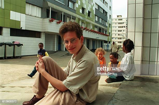 Johann Bihr at home in Mantes la Jolie He is the youngest secondary school student to have won a prize in the 2001 concours gnral