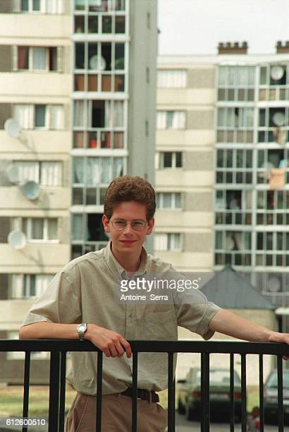 Johann Bihr at home in Mantes la Jolie he is the youngest secondary school student in France to have won a prize in the 2001 concours general