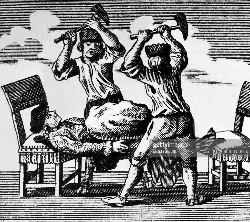 Johann Carl von Eckenberg : News Photo