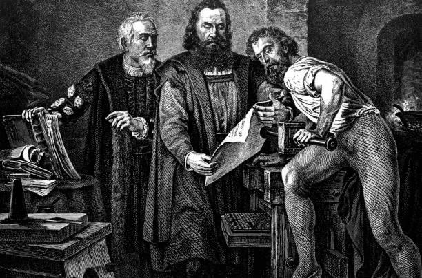 Johann Gutenberg C1397 1468 German Inventor Of The Printing Press