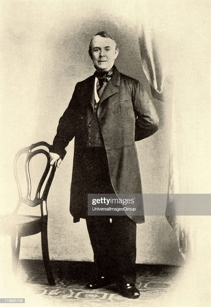 Johann Jakob Brahms, father of the German composer Johannes Brahms (1833-1897). From a photograph. Halftone. : News Photo