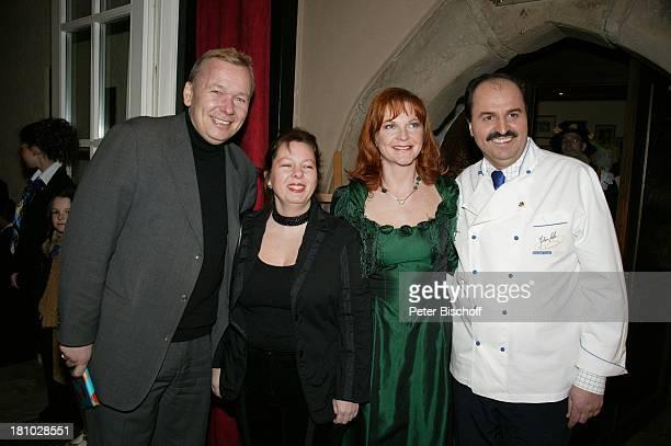 Johann Lafer Ehefrau Sylvia Lafer Anke Stelter Ehemann Bernd Stelter 10jähriges Jubiläum Hotel Stromburg 25jähriges Jubiläum Restaurant Val D or...