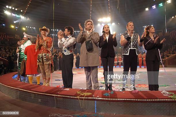 """Johann Lafer , Hape Kerkeling , Heino Ferch , ARD-Benefiz-Zirkus-Gala """"Stars in der Manege"""", München, Deutschland, , Prod.-Nr.: 1860/2006, """"Circus..."""