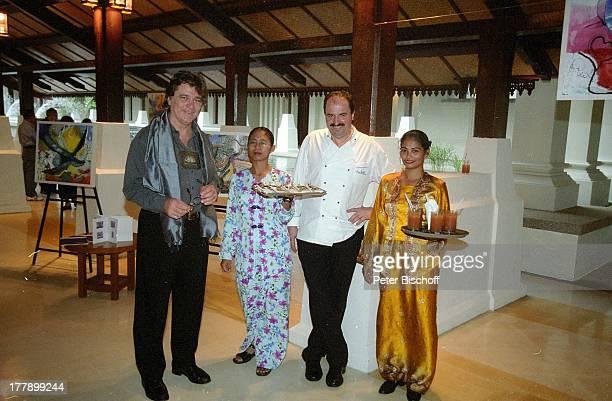 Johann Lafer Prof HansJoachim Pietrula HotelAngestellte SWRShow Johann Lafer kocht unterwegs Kochen und Kunst von Johann Lafer und Prof HansJoachim...