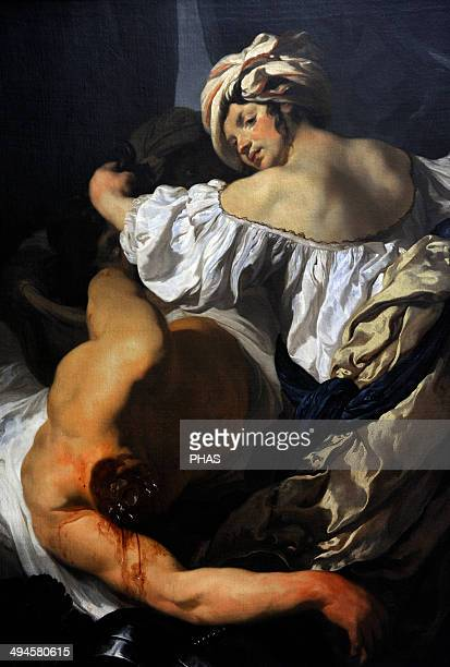 Johann Liss German Baroque painter Judith in the Tent of Holofernes 1622 Museum of Fine Arts Budapest Hungary
