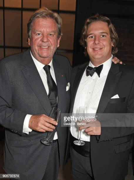 Johann Rupert and son Anton Rupert Jr attend the IWC Schaffhausen Gala celebrating the Maison's 150th anniversary and the launch of its Jubilee...