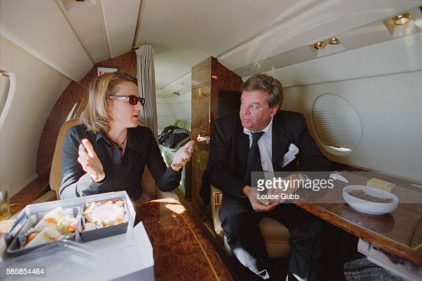 Johann Rupert fiftyfour year old executive chairman of luxury brand company Richemont SA which owns brands like Cartier VanCleef Arpels Montblanc and...
