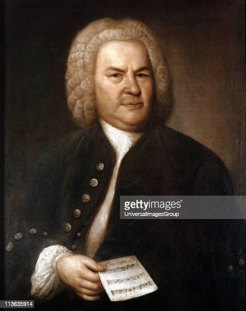 Johann Sebastian Bach in 1746 German composer and organist Portrait by Elias Gottlieb Haussman Stadtgeschichtliches Museum Leipzig