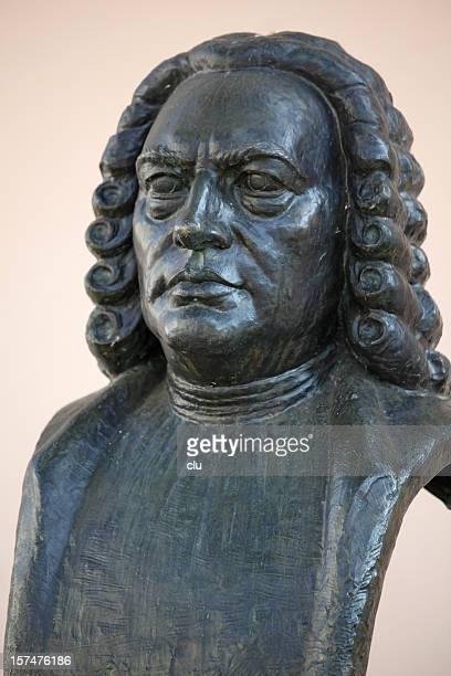 Johann Sebastian Bach statue in Weimar