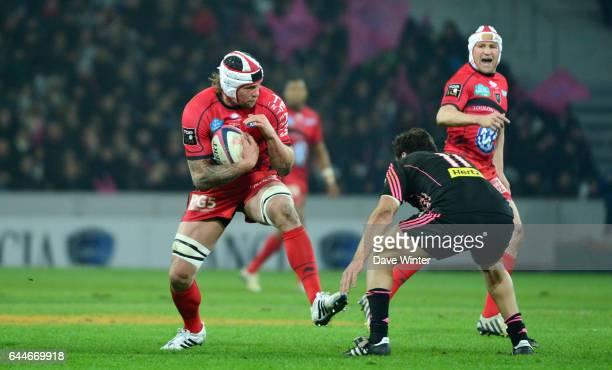 Johann VAN NIEKERK Stade Francais / Toulon 23e journee de Top 14 Lille Photo Dave Winter / Icon Sport