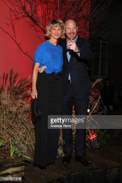 "Johann von Buelow and his wife at the L'Oreal Paris Bar ""Room No. 311"" during the 70th Berlinale International Film Festival Berlin at Alte Muenze on..."