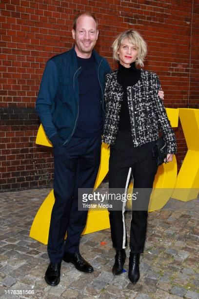 "Johann von Buelow and his wife Katrin von Buelow attend the 25 Year ""X Filme"" anniversary party at Radialsystem V on September 20, 2019 in Berlin,..."