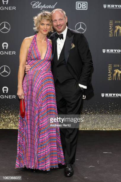Johann von Buelow and his wife Katrin von Buelow attend the 70th Bambi Awards at Stage Theater on November 16 2018 in Berlin Germany