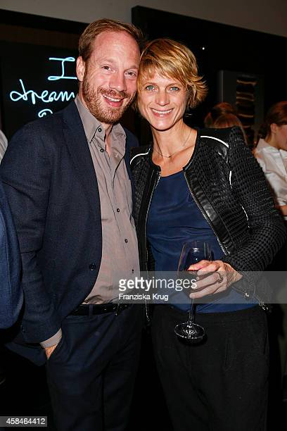 Johann von Buelow and Katrin von Buelow attend the Re-Opening of the 'La Banca' restaurant at Hotel de Rome on November 05, 2014 in Berlin, Germany.