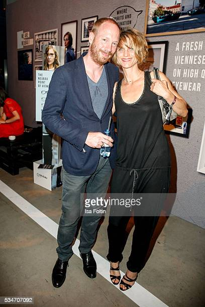 Johann von Buelow and Katrin von Buelow attends the New Faces Award Film 2016 After Show Party at ewerk on May 26 2016 in Berlin Germany