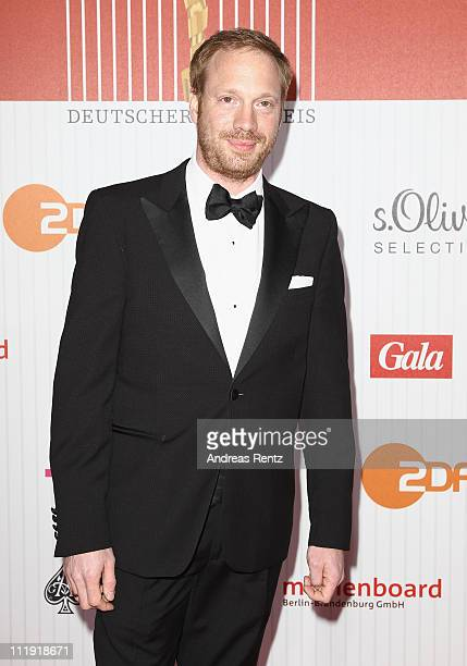 Johann von Buelow arrives at the red carpet for the 'Lola - German Film Award 2011' at Friedrichstadtpalast on April 8, 2011 in Berlin, Germany.