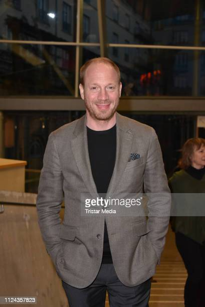 Johann von Buelow attends the ARTE reception during 69th Berlinale International Film Festival at on February 12 2019 in Berlin Germany