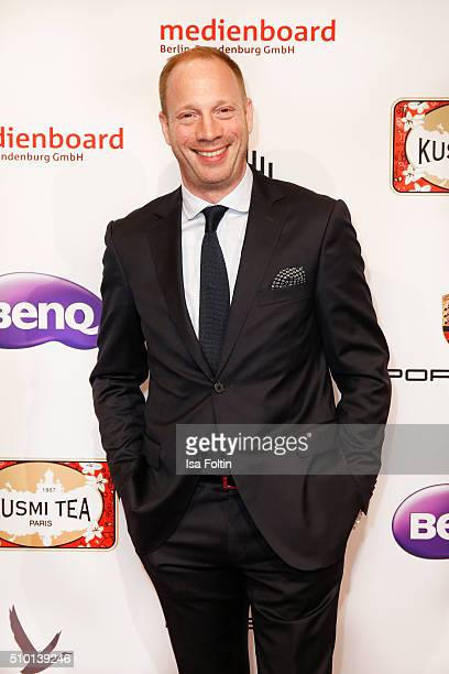 Johann von Buelow attends the Medienboard BerlinBrandenburg Reception on February 13 2016 in Berlin Germany