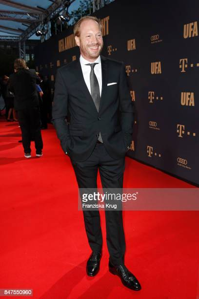 Johann von Buelow attends the UFA 100th anniversary celebration at Palais am Funkturm on September 15 2017 in Berlin Germany