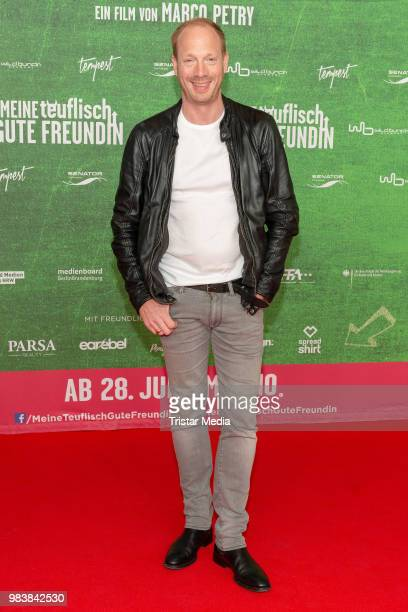 Johann von Buelow during the premiere 'Meine teuflisch gute Freundin' on June 25, 2018 in Cologne, Germany.