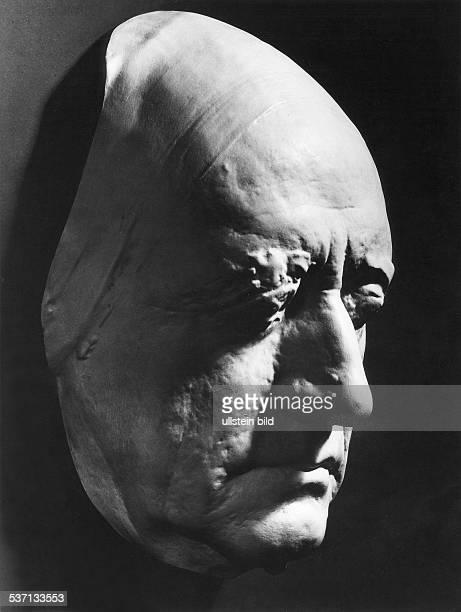 Johann Wolfgang von GoetheJohann Wolfgang von Goethe Schriftsteller Dichter D Maske lebend undatiert Aufnahme von Fritz Eschen