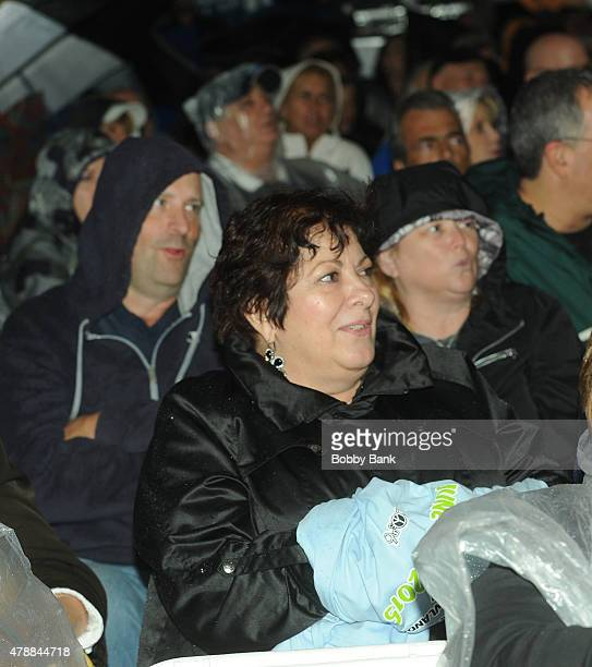 Johanna Antonacci attends Cousin Brucie's 3rd Annual Palisades Park Reunion Show at Meadowlands State Fair on June 27 2015 in East Rutherford New...