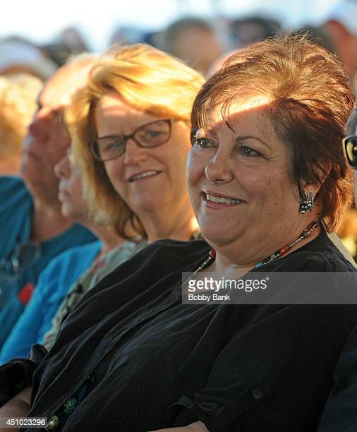 Johanna Antonacci attends SiriusXM's Cousin Brucie's Second Annual Palisades Park Reunion at State Fair Meadowlands on June 21 2014 in East...