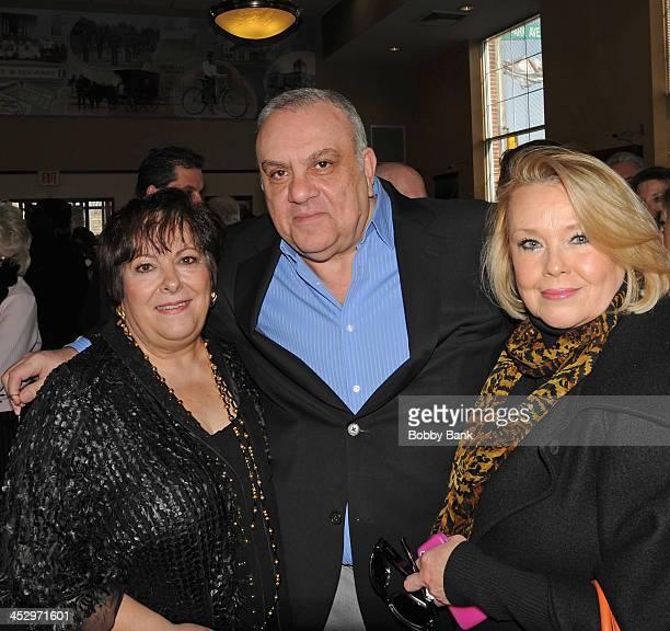 Johanna Antonacci Vincent Curatola and Maureen Curatola attend the James Gandolfini Street Naming Ceremony on December 1 2013 in Park Ridge New Jersey