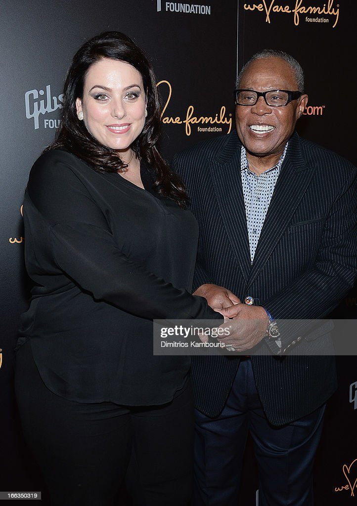 Johanna Bennett and Sam Mooore attend the 0213 We Are Family Honors Gala at Manhattan Center Grand Ballroom on April 11, 2013 in New York City.