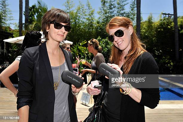 Johanna Blum and Emily Chrietzberg attend Alison Brod Public Relations Los Angeles Summer Style Event on June 15 2011 in Beverly Hills California