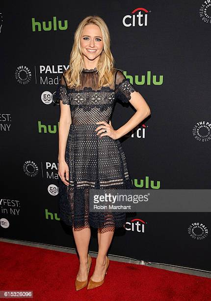 Johanna Braddy attends PaleyFest New York 2016 Quantico at The Paley Center for Media on October 17 2016 in New York City